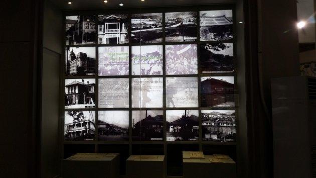 昌原市立馬山博物館の館内(2017年7月撮影)